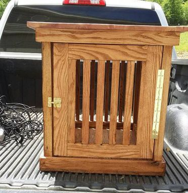 Custom Made End Table/Dog Kennel