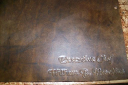 Custom Made Custom Leather Portfolio
