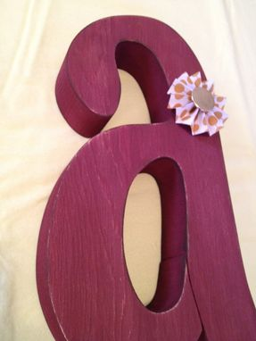Custom Made Rustic Kitchen Letter Set