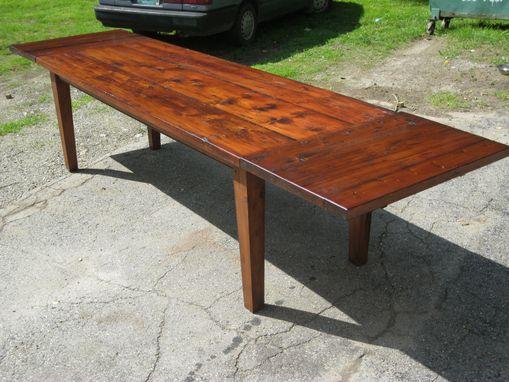 Handmade Vermont Reclaimed Lumber Farm Table By Spaulding