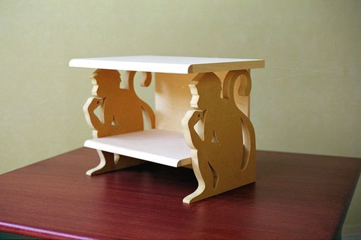 Custom Made Monkey Nightstand