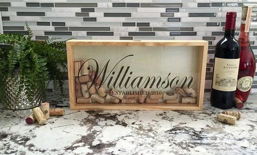 Custom Made Personalized Wine Cork Keepers - 6 Large Designs