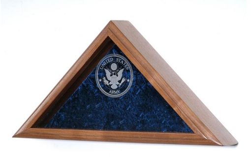 Custom Made Large Memorial Flag Cases Display Case Shadow Box