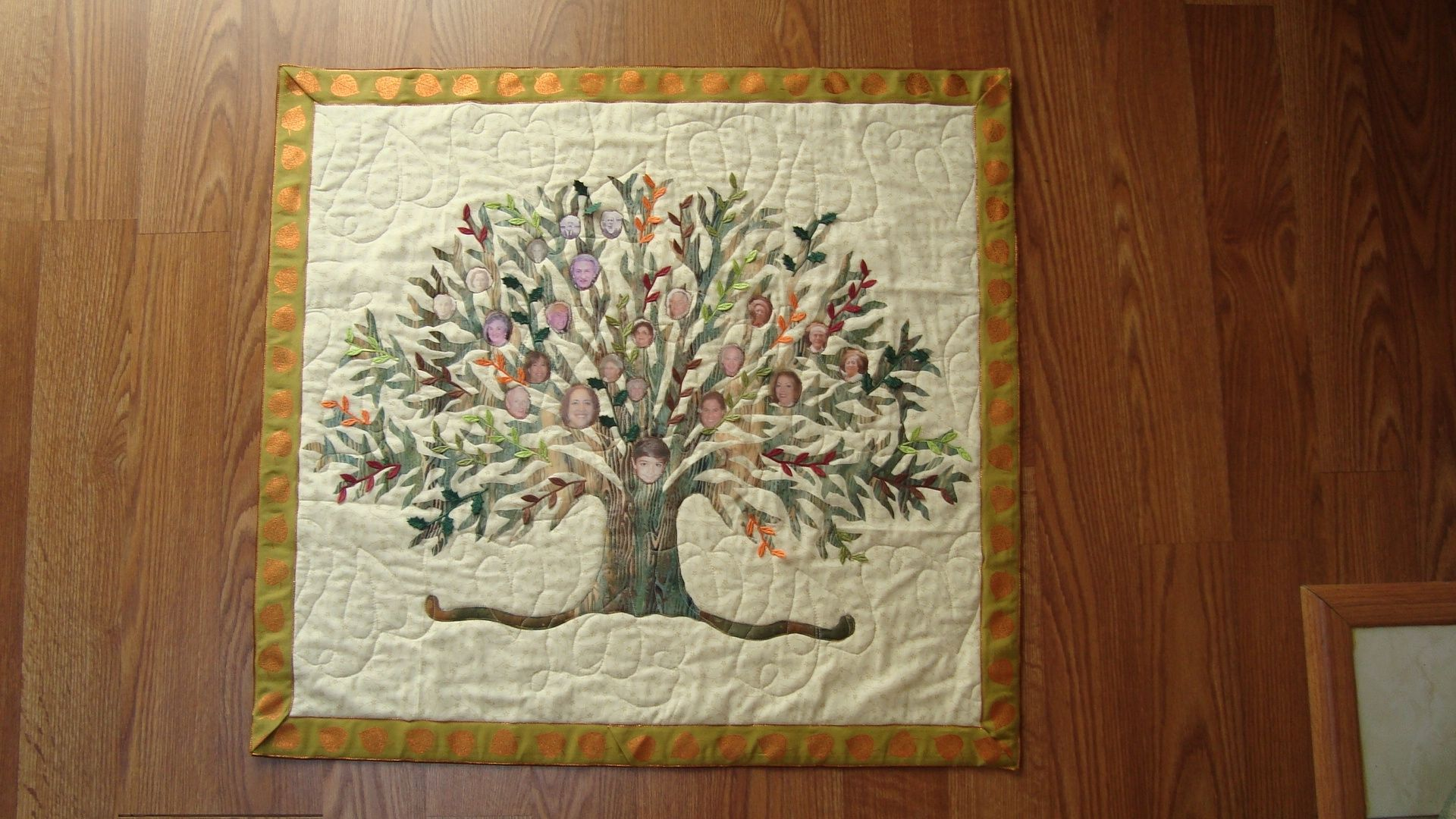 Custom Multi Generation Family Tree By Quilts Of