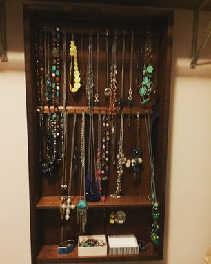 Custom Made Jewelry Organizer