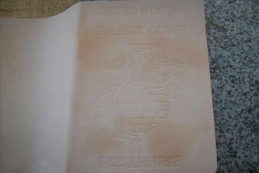 Custom Made Marine/Eagle Globe And Anchor Day Planner
