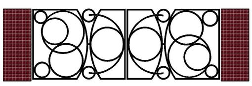 Custom Made Iron Driveway Gate, Hand Forged Artistic Gates, Artisan Made
