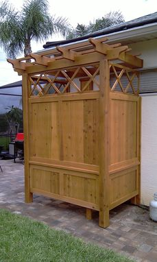 Custom Made Outdoor Shower