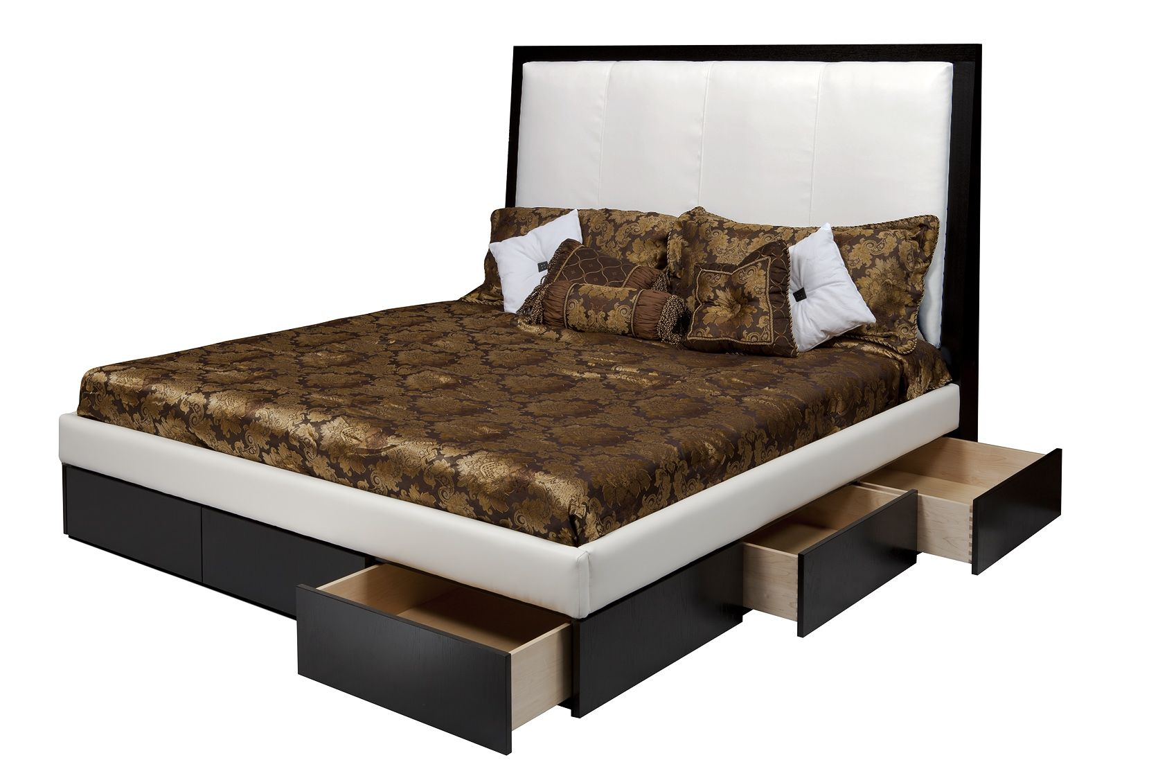 Custom The Stacie Mod Leather Bed By Corl Design Ltd Custommade Com