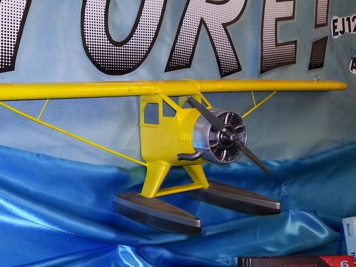 Custom Made Tin Tin Seaplane - Public Library Commission (3d Printed)