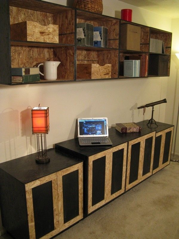Custom Osb Entertainment Center By Modular Osb
