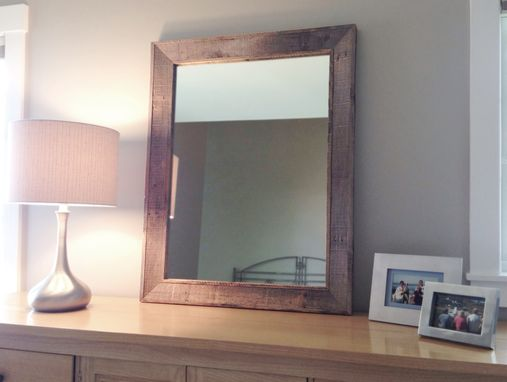Custom Made Reclaimed Wood Mirror