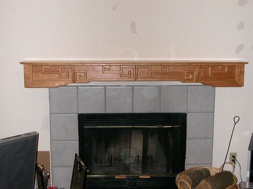 Custom Made Asian Inspired Mantle
