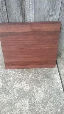 Custom Made Black Walnut Edge Grain Cutting Board