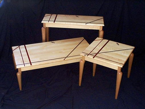 Custom Made Living Room Tables