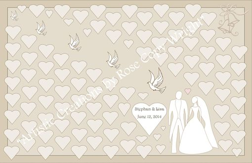 Custom Made Wedding Guest Book Alternative, Wedding Guest Book, Wedding Accessories