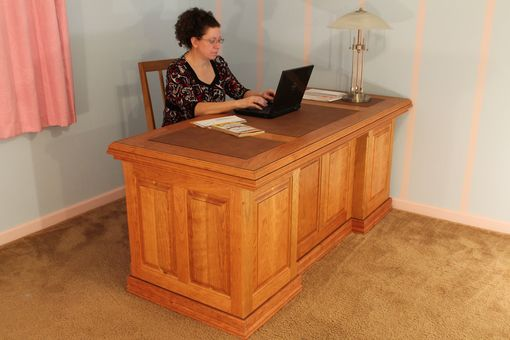 Custom Made Executive Desk Cherry