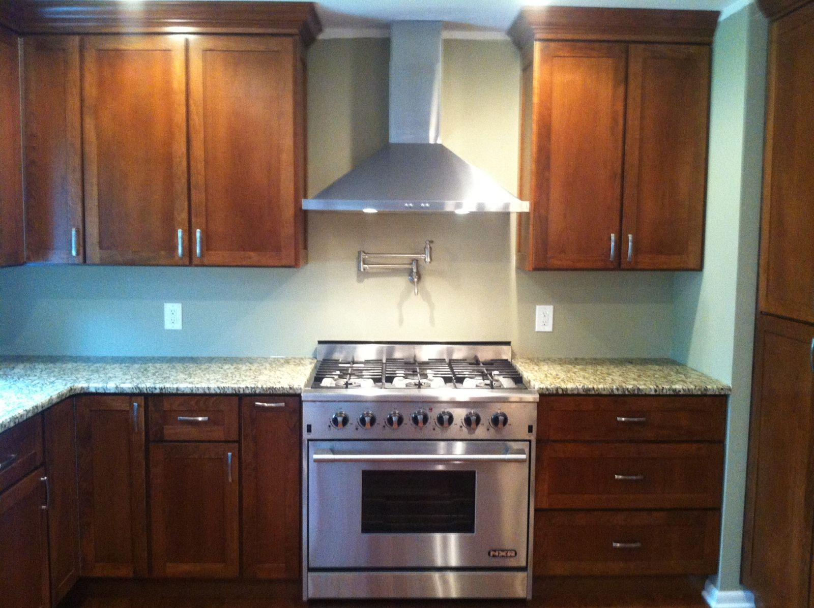 Hand Made Modern Cherry Custom Kitchen Cabinets By Peabody Enterprises Inc Custommade Com