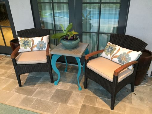 Custom Made Indoor/Outdoor Accent Table