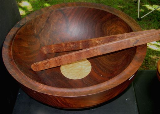 Custom Made Walnut Salad Bowl