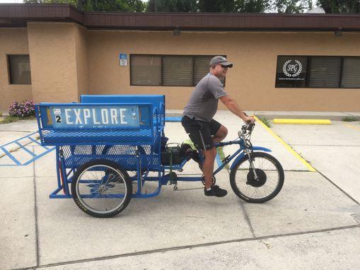 3a4c17a9d5a Handmade Pedicab Conversions by Hands On Metal Designs   CustomMade.com
