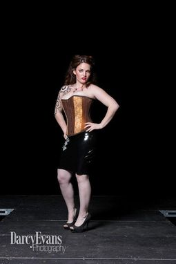 Custom Made Steampunk Corset And Skirt