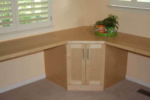 Custom Made Custom Maple Office