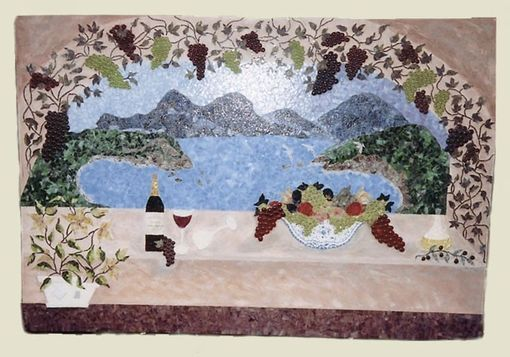 Custom Made Tuscan Mural