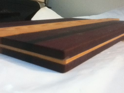 Custom Made Exotic And Historic Hardwood Cutting Board