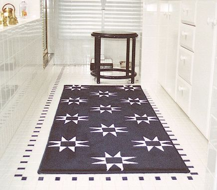 Custom Made Quilt-Patterned Rugs