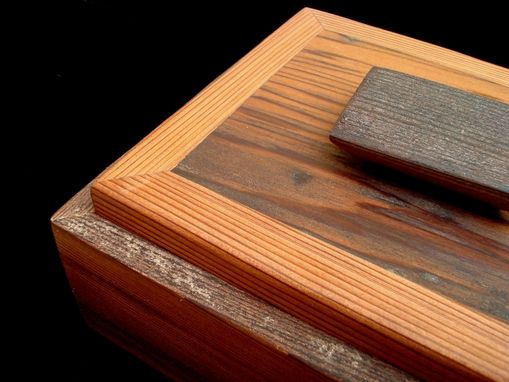 Custom Made Vintage Redwood Box
