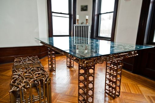 Custom Made Dining Table (Sangre Y Tanqueray)