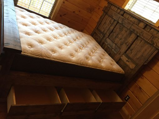 Custom Made Queen Bed Farm House Style