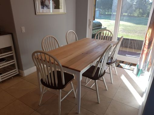 Custom Made Solid Maple Shaker Style Dining/Kitchen Table