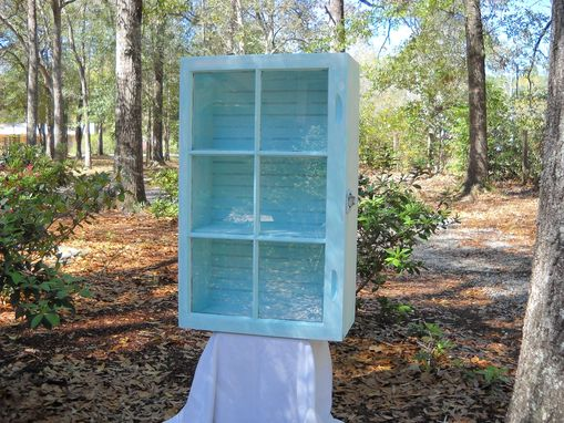 Custom Made Window Curio Cabinet