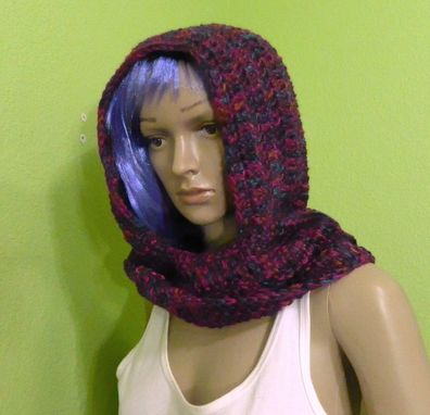 Custom Made Ren-Faire Long Tailed Fairy Elf Hooded Scarf