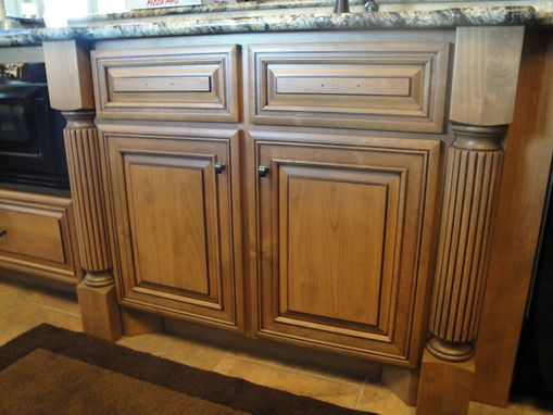 Custom Made Clear Alder Cabinetry