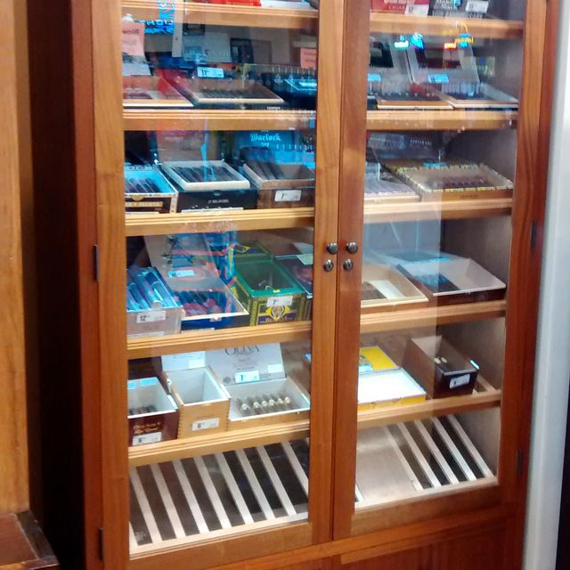 Handmade Large Retail Humidor Display Cabinet By Works Custommade