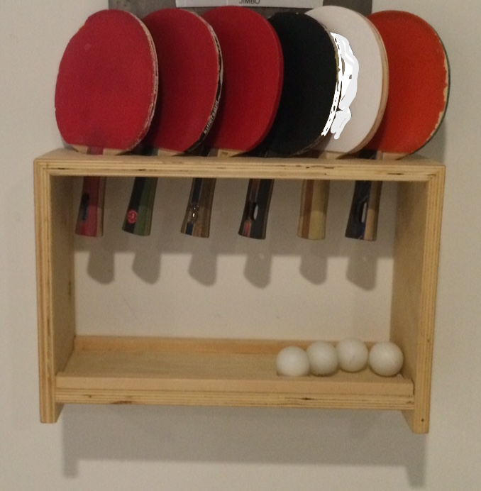Buy A Custom Ping Pong Paddle And Ball Holder Made To