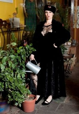 Custom Made Sheer Opera Dress Coat