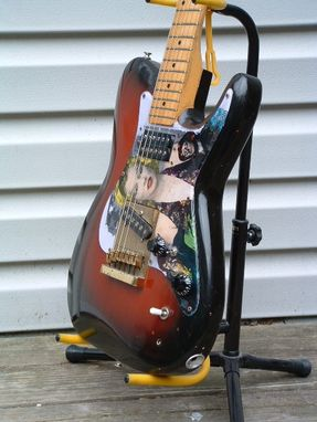 Custom Made Solidbody Electric Guitar/ Tele-Monster