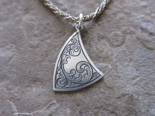 Custom Made Scroll Pendant #1