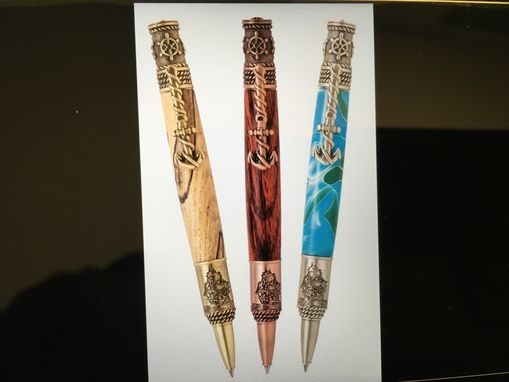 Custom Made Hand Crafted Nautical Themed Pen
