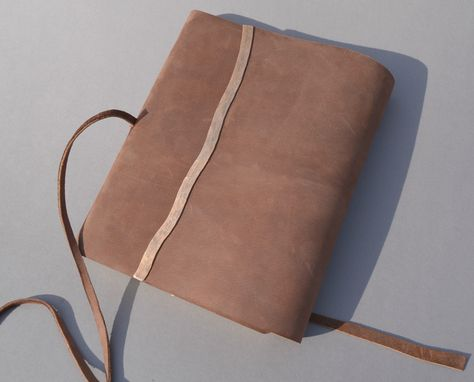 Custom Made Leather Planner Large Bound Personal Diary Travel Journal (390)
