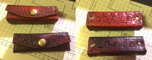 Handmade Handcrafted Leather Harmonica Cases by Gene's ...