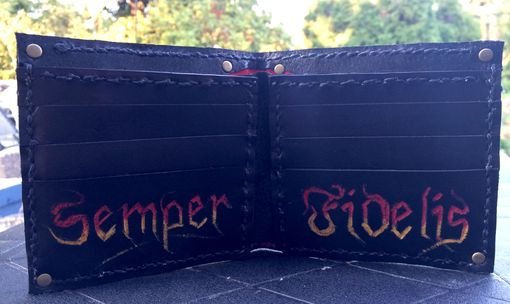 Custom Made Marine Corps Wallet
