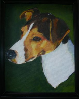 Custom Made Custom Dog Pet Portrait Of Jack