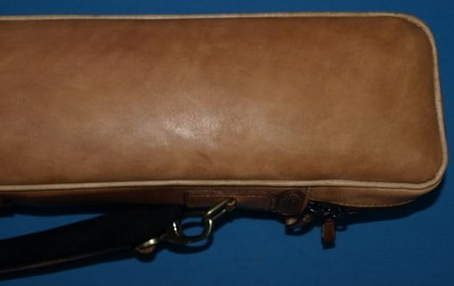 Custom Made Copper Leather Poolstick Case
