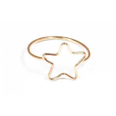 Custom Made Little Star Ring, Gold Filled Or Sterling Silver