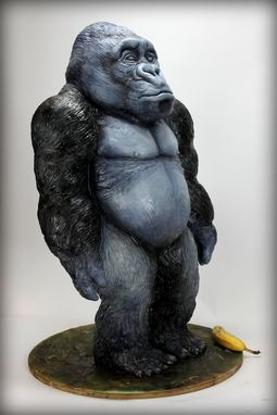 Custom Made Gorilla Sculpture